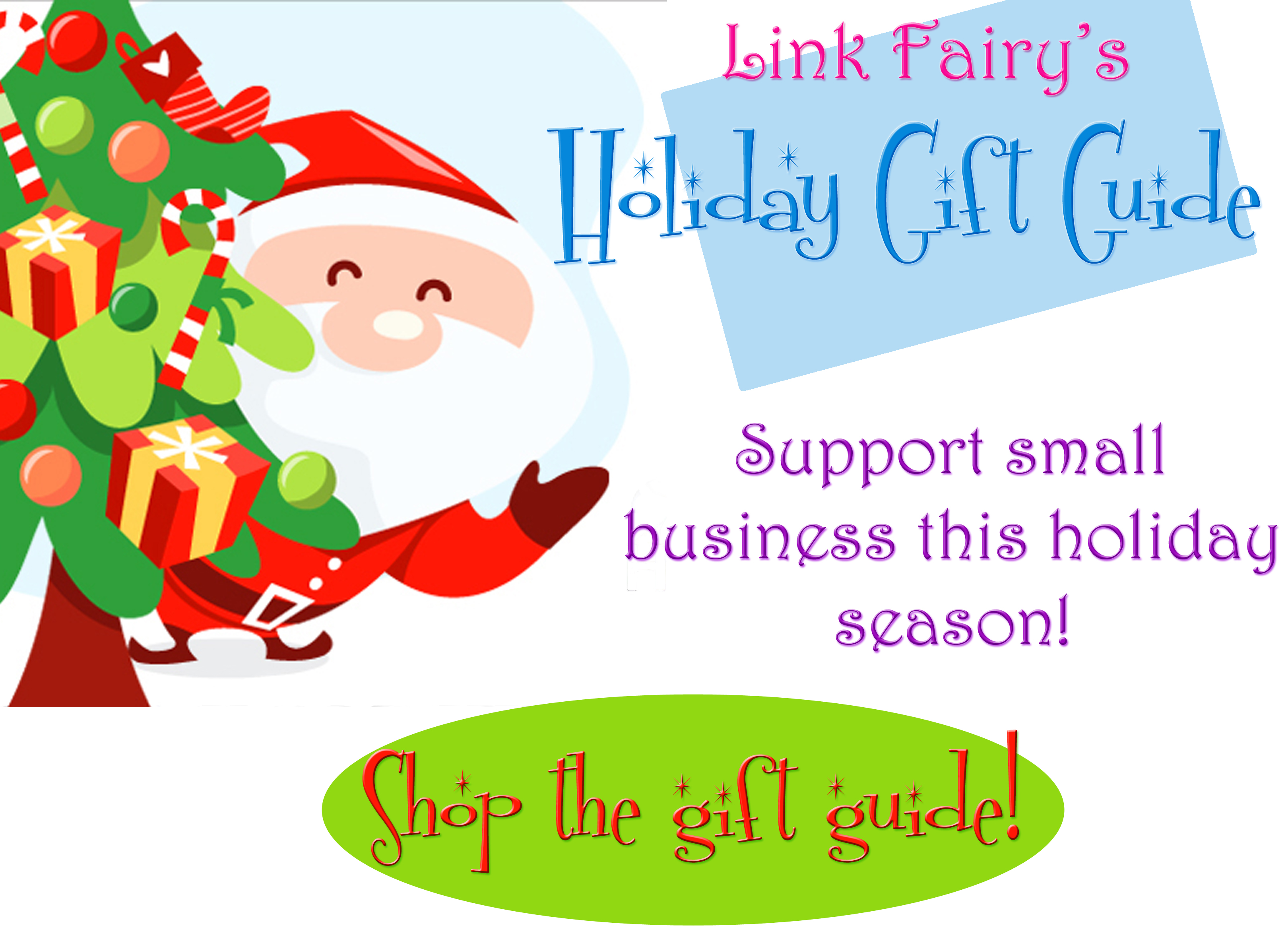Link Fairy 2012 Holiday Gift Guide!