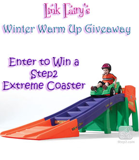 Win a Step2 Extreme Coaster in the Winter Warm Up Giveaway!