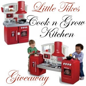 WIN a Cook N Grow Kitchen from Little Tikes!