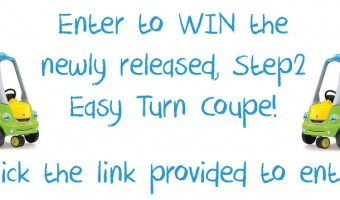 Save a heart with Step2 & the new Easy Turn Coupe!