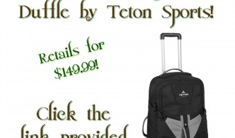 Packing it up with the Teton Adventurer Rolling Travel Duffle!