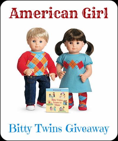 American Girl, Bitty Twins Giveaway!