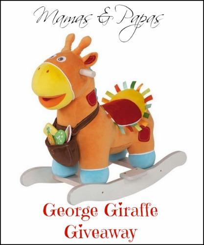 Mamas & Papas George Giraffe Rocker Giveaway!