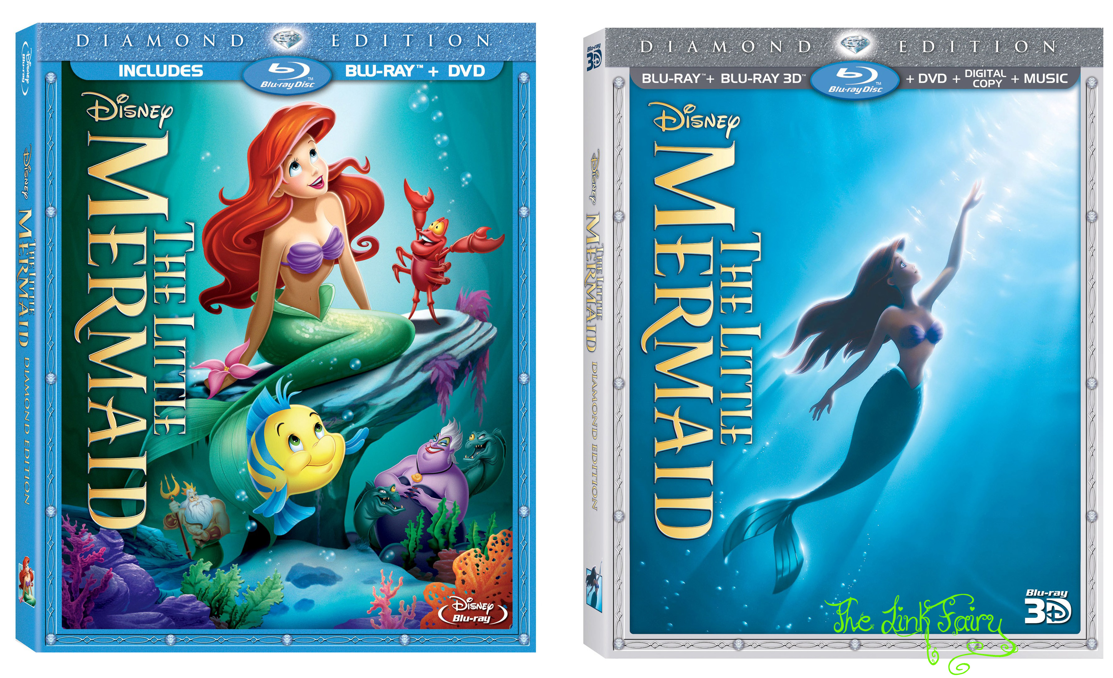 Disney's The Little Mermaid Will Splash Into Blu-Ray Hi Def This October!