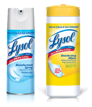 Bring The Healthing Initiative Into Your Home With LYSOL!