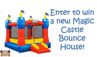 Bounce Into Spring Giveaway – Win a Magic Castle Bounce House!