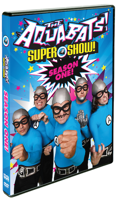 Get kicking with The Aquabats! Super Show! Season One on DVD!