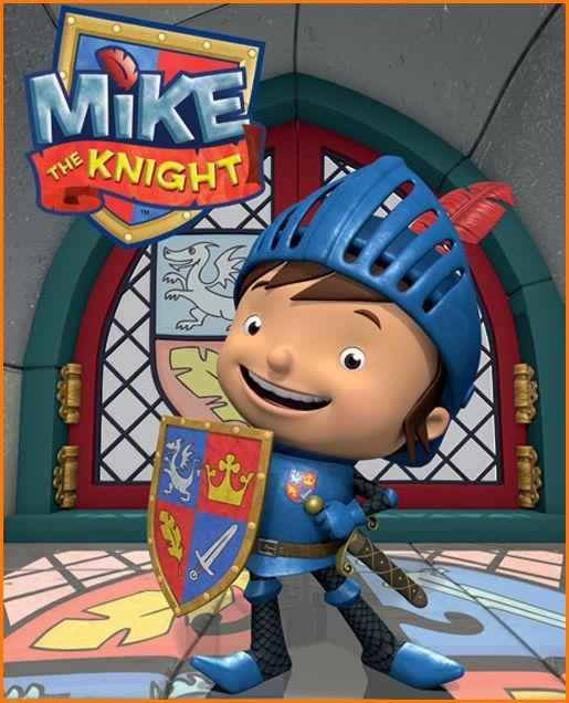 Send your kids on a medieval adventure to learn responsibility with Mike The Knight!