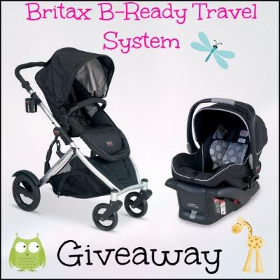 Britax B Ready Travel System