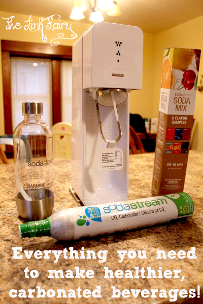 Go Green with the Soda Stream – Carbonating the world one push at a time!