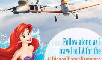 I'm flying in and splashing down for a #LittleMermaidEvent and the #DisneyPlanesPremiere in LA!