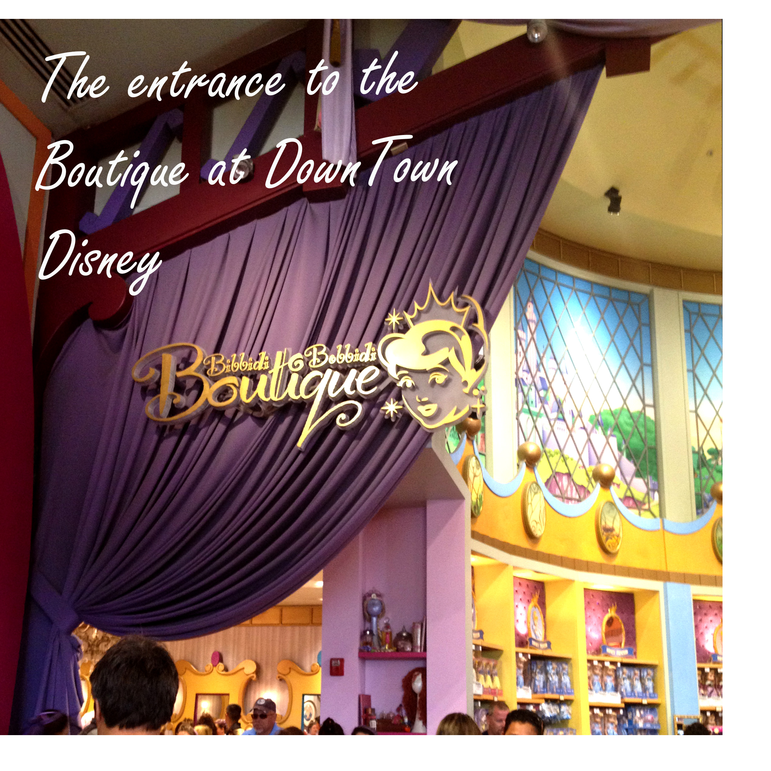 Bibbidi Bobbidi Boutique – A little girl's dream come true! #bibbidibobbidiboutique