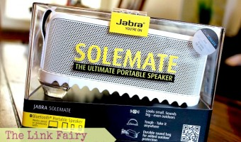 The portable speaker that packs a PUNCH! – The Jabra SOLEMATE #JabraSOLEMATE