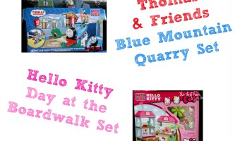 It's a MEGA BLOKS Summer featuring Hello Kitty and Thomas & Friends!