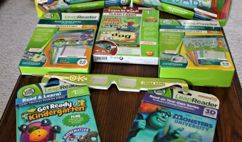 Bringing the classroom home with LeapFrog's LeapReader! #LeapReader