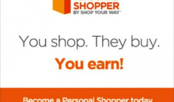 Make money shopping with the Personal Shopper Program from Shop Your Way! #PersonalShopper
