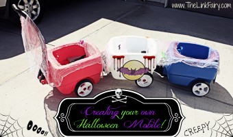 Re-purpose your Step2 wagon for Fall! Turn it into a Trick Or Treating Chariot! #Halloween