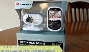 Giving parents a better view of nap time – The Motorola MBP26 Digital Video Baby Monitor!