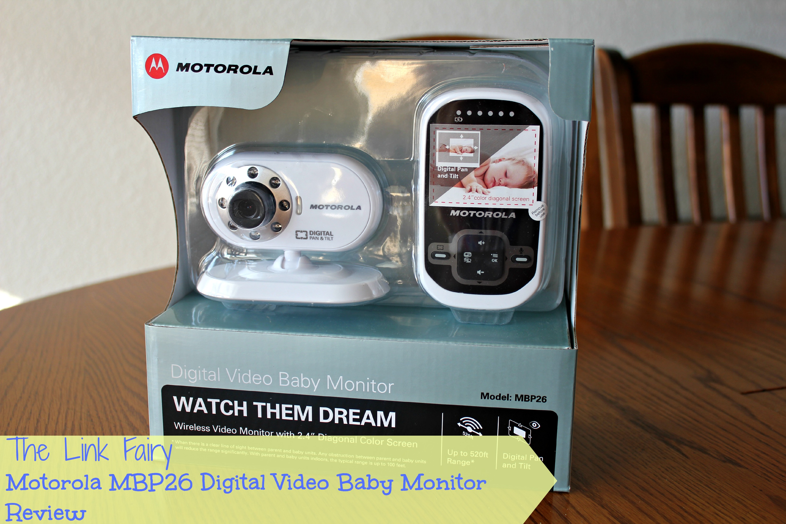 motorola mbp26 digitial video baby monitor review. Black Bedroom Furniture Sets. Home Design Ideas