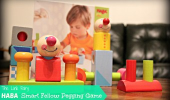 Learning through play with the new Smart Fellow Pegging Game from HABA USA!