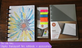 Staying organized with arc products from Staples!