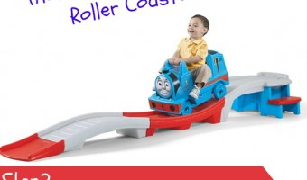 Enter to win a Step2 Thomas The Tank Engine Up & Down Roller Coaster! #Giveaway
