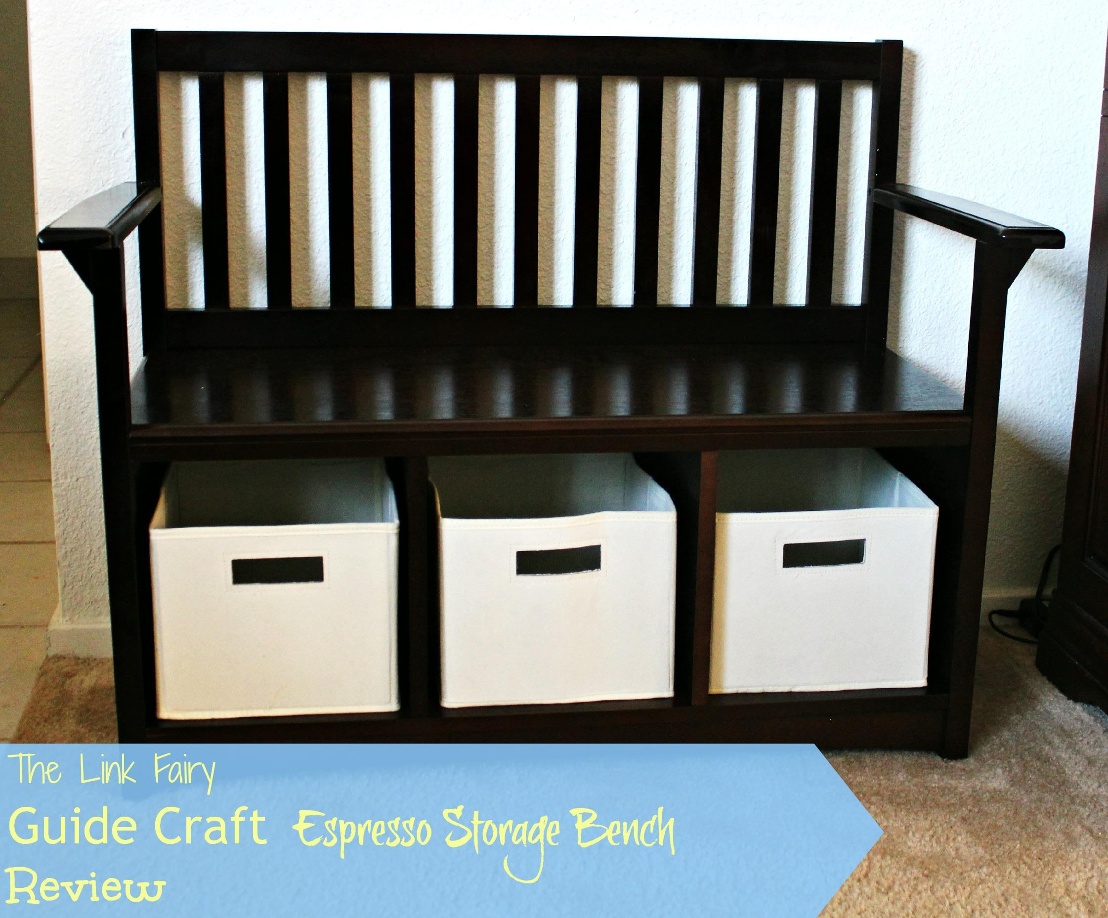 Guide Craft Espresso Storage Bench Review