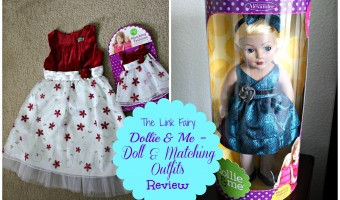 Dress up your daughter with Dollie & Me – Dolls with outfits to match their girlfriends!