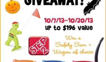 Win a Step2 wagon of your choice & a Safety Sam in the Step2 Halloween #Giveaway !