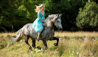Disney turns an animated classic into a live-action film with CINDERELLA! #disney