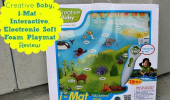 Learn and play with the i-Mat, My Animal World Set from Creative Baby!