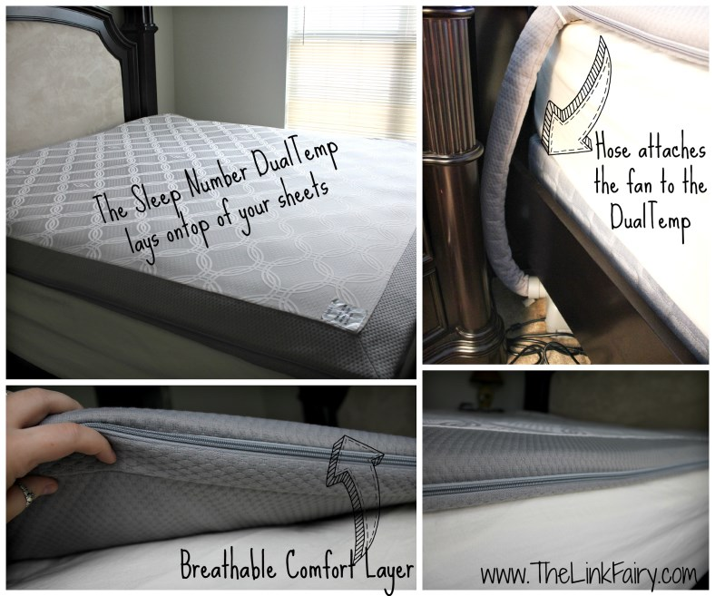 on the bed - Sleep Number Sheets
