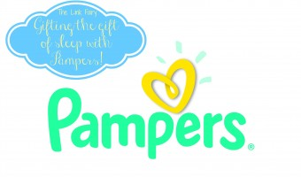 Giving the gift of sleep to a fellow mom with Pampers plus Pampers prize pack giveaway!