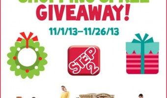 Step2 $1000 Shopping Spree Giveaway!