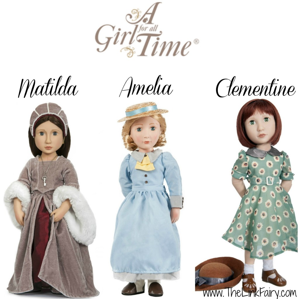 Amelia/'s Party Dress for 16 inch doll A Girl for All Time