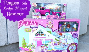 Winter fun with the Pinypon Ski Lodge Playset and Snow Car & Tow from Famosa!