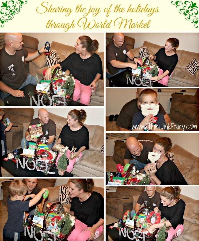 Sharing the joy of the holidays through World Market