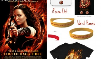 The Hunger Games: Catching Fire prize pack giveaway!