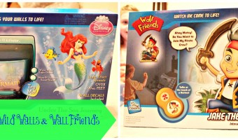 Light up a room with Wild Walls and Wall Friends from Uncle Milton!