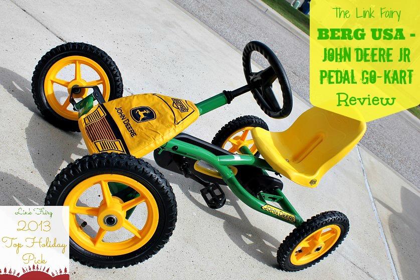 Kart à pédales BERG Toys John Deere Buddy  269,90EUR  Véhicules à pédales