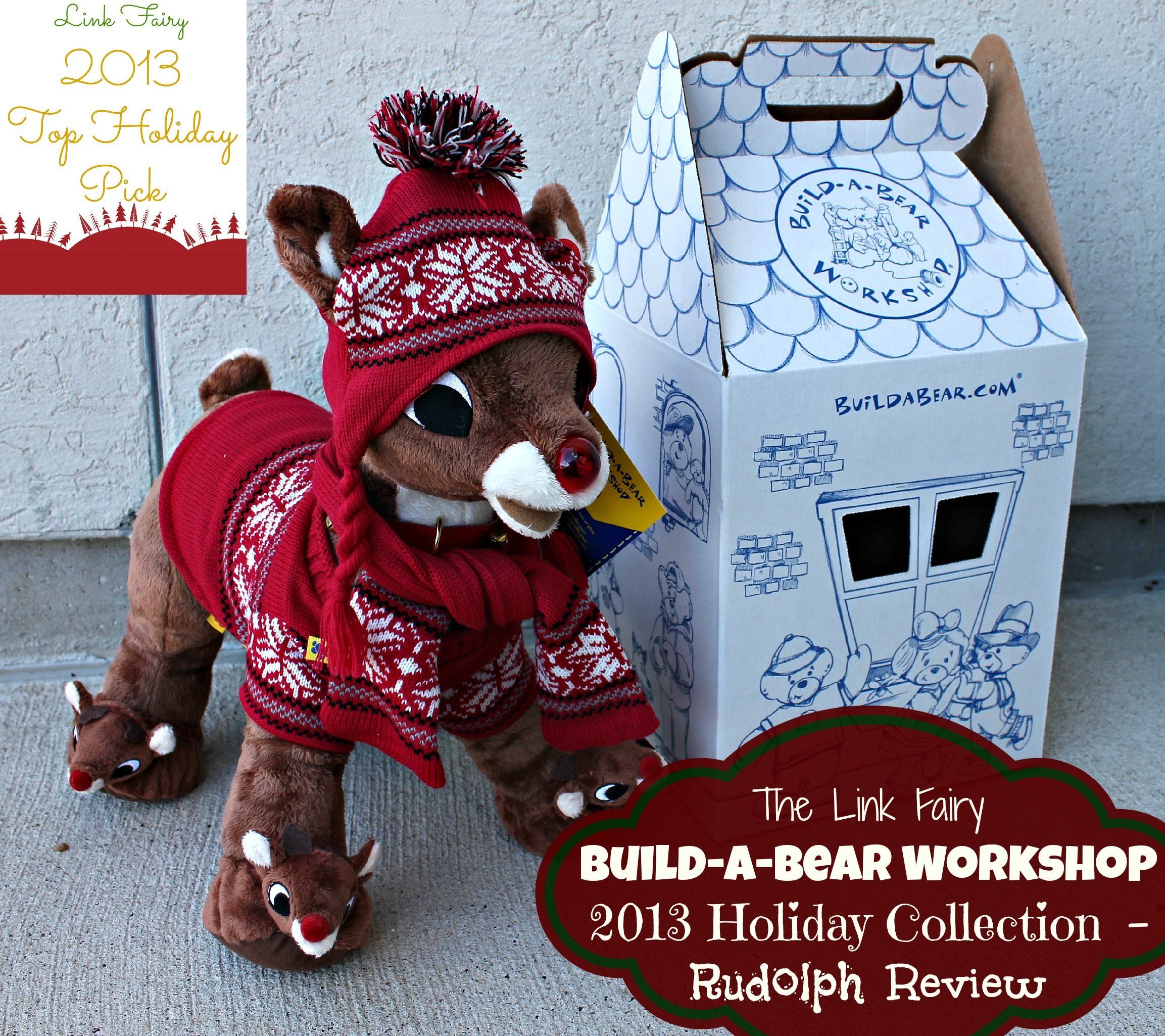 Build-A-Bear Workshop 2013 Christmas Classics, Rudolph Review