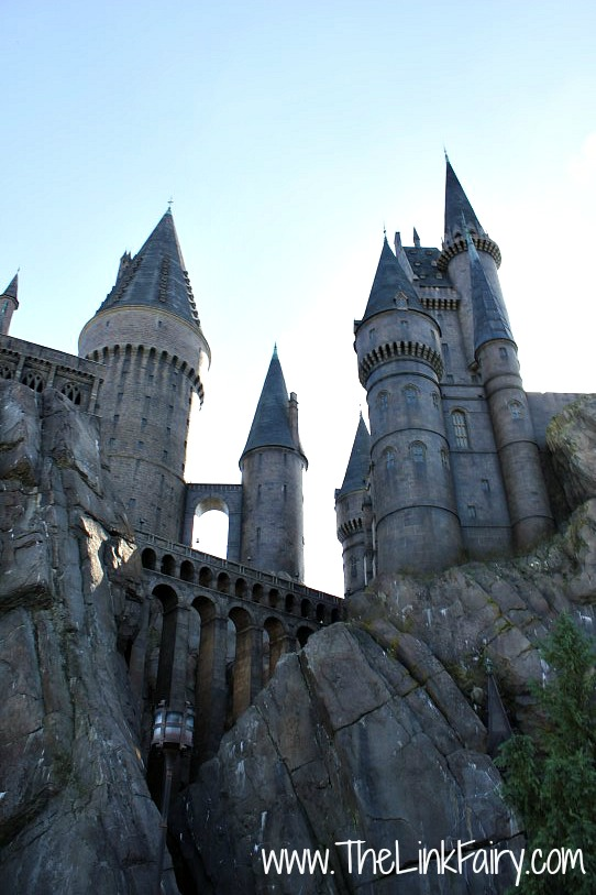 Hogwarts Castle in the Wizarding World of Harry Potter at Universal Studios FL