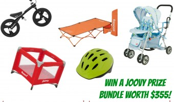 Santa In Us Giveaway – Win a bundle of Joovy products! #SantaInUs
