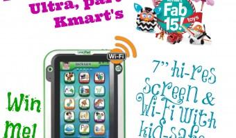 Kmart Fab 15 Toys – LeapFrog LeapPad Ultra Giveaway! #KmartFab15