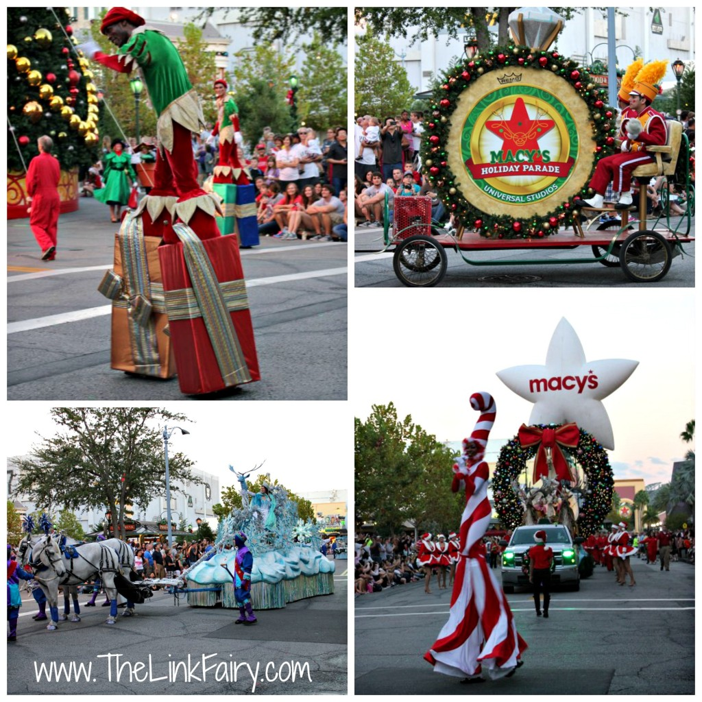 Macy's Holiday Parade at Universal Studios FL 4