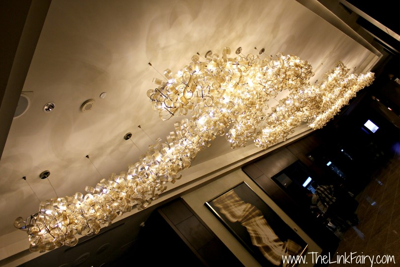Royal Sonesta Houston Lobby Chandelier