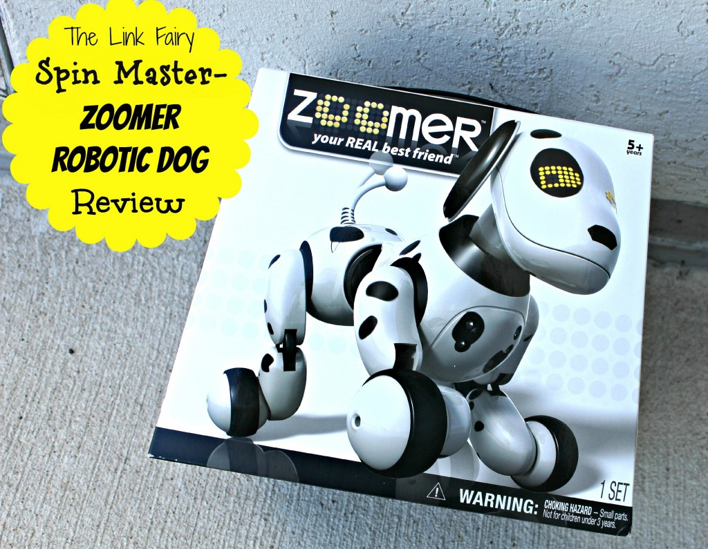 Zoomer Robotic Dog By Spin master Review
