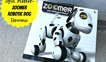 A pet for all families – Zoomer the robotic dog from Spin Master Toys!
