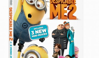 Get ready for more Minion madness with Despicable Me 2 on Blu-Ray Combo Pack!