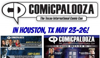 2014 Comicpalooza Houston #giveaway ! Win a family 4 pack of 4 day tickets! #HoustonNerdsUnite